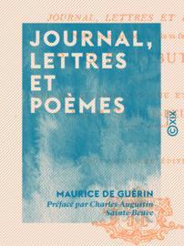 Journal, lettres et poèmes