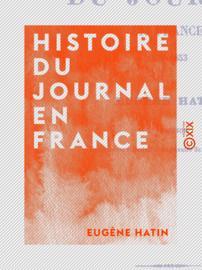 Histoire du journal en France