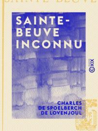 Sainte-Beuve inconnu
