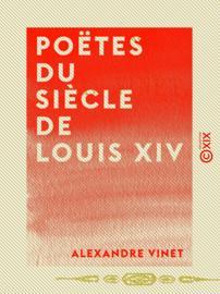 Poëtes du siècle de Louis XIV