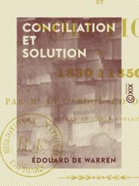Conciliation et Solution