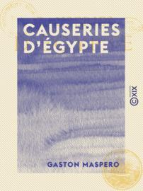 Causeries d'Égypte