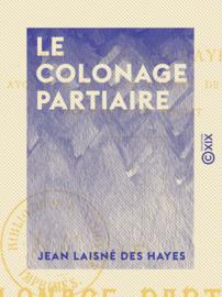 Le Colonage partiaire