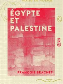 Égypte et Palestine