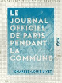 Le Journal officiel de Paris pendant la Commune
