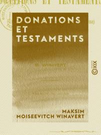Donations et Testaments