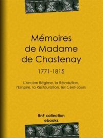Mémoires de Madame de Chastenay