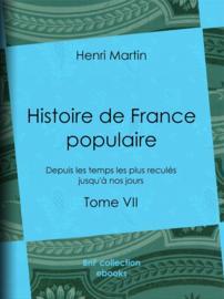 Histoire de France populaire - Tome VII