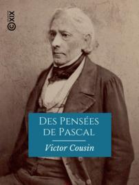 Des Pensées de Pascal