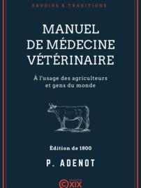 Manuel de médecine vétérinaire