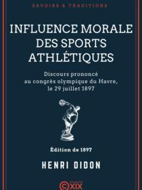 Influence morale des sports athlétiques