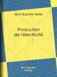 Production de l'électricité