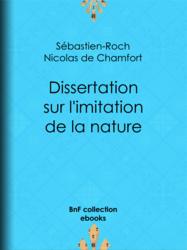 Dissertation sur l'imitation de la nature