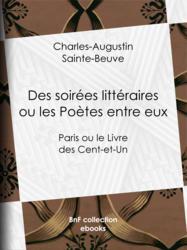 Des soirées littéraires ou les Poètes entre eux
