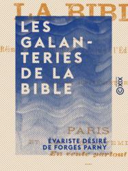 Les Galanteries de la Bible