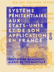 Système pénitentiaire aux États-Unis et de son application en France