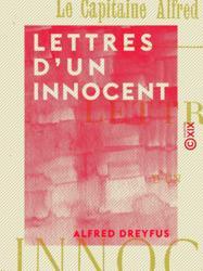 Lettres d'un innocent