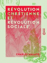 Révolution chrétienne et Révolution sociale