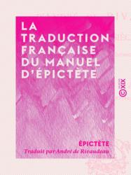 La Traduction française du Manuel d'Épictète