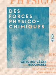 Des forces physico-chimiques
