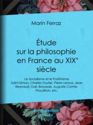 Étude sur la philosophie en France au XIXe siècle