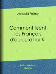 Comment lisent les Français d'aujourd'hui ?
