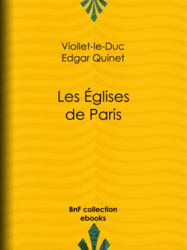 Les Eglises de Paris