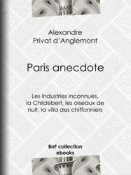 Paris anecdote