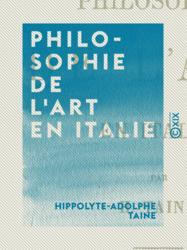 Philosophie de l'art en Italie