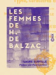 Les Femmes de H. de Balzac