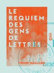 Le Requiem des gens de lettres