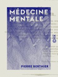 Médecine mentale