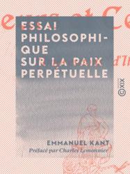 Essai philosophique sur la paix perpétuelle