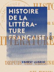 Histoire de la littérature française