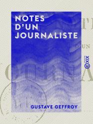 Notes d'un journaliste