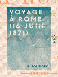 Voyage à Rome (16 juin 1871)