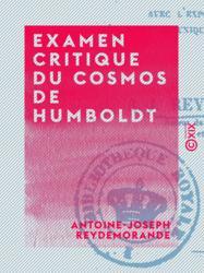 Examen critique du cosmos de Humboldt