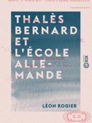 Thalès Bernard et l'École allemande