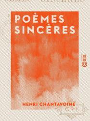 Poèmes sincères