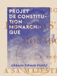 Projet de constitution monarchique