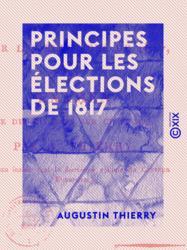 Principes pour les élections de 1817