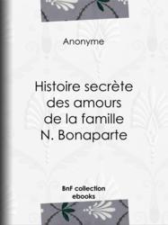 Histoire secrète des amours de la famille N. Bonaparte
