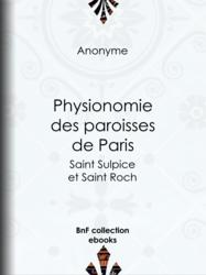 Physionomie des paroisses de Paris