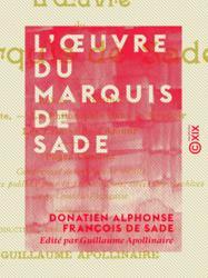 L'Œuvre du marquis de Sade