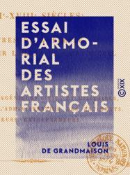 Essai d'armorial des artistes français