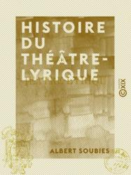 Histoire du Théâtre-Lyrique