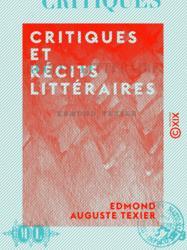 Critiques et Récits littéraires