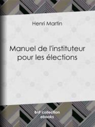Manuel de l'instituteur pour les élections