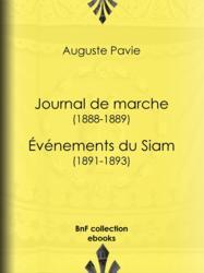 Journal de marche (1888-1889) - Événements du Siam (1891-1893)