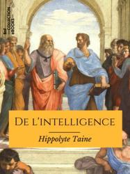 De l'intelligence